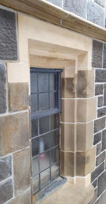 Sandstone repair