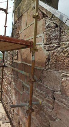 Sandstone stone replacement